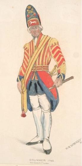 Laxer Drummer 1745