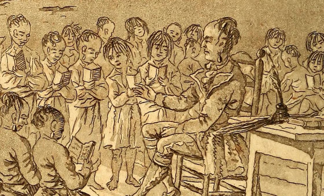James Peachey, A Primer for the Use of the Mohawk Children, 1786, via Wikimedia Commons