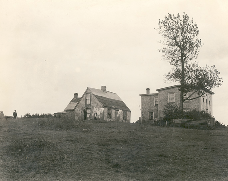 House belonging to the Colley family on the site of Governor's Farm, Preston, Gauvin & Gentzel, photographer, 2 October 1934; Nova Scotia Archives Photograph Collection: Places: Preston (scan 200402283). Used with permission.