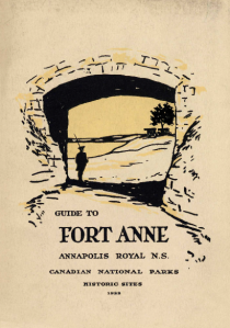 Guide to Fort Anne, Annapolis Royal, Nova Scotia (1922), Parks Canada