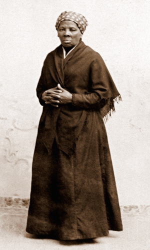 Harriet Tubman, 1885, photograph by H. Seymour Squyer. National Portrait Gallery via Wikimedia Commons