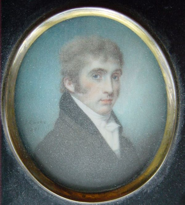 Isaac Weld, ca. 1800, via Wikimedia Commons
