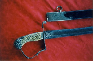 Mookomaanish's Sword, Image Courtesy of the Ojibwe Cultural Foundation