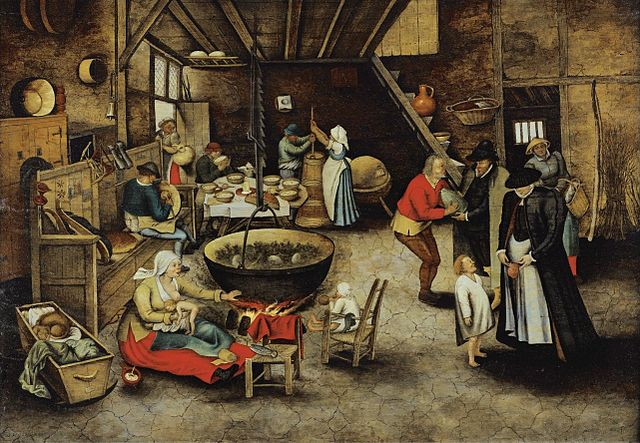 The Visit to the Farm, Pieter Brueghel the younger, 1622, 1622 (Wikimedia Commons)
